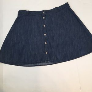 Merona  denim skirt size Large